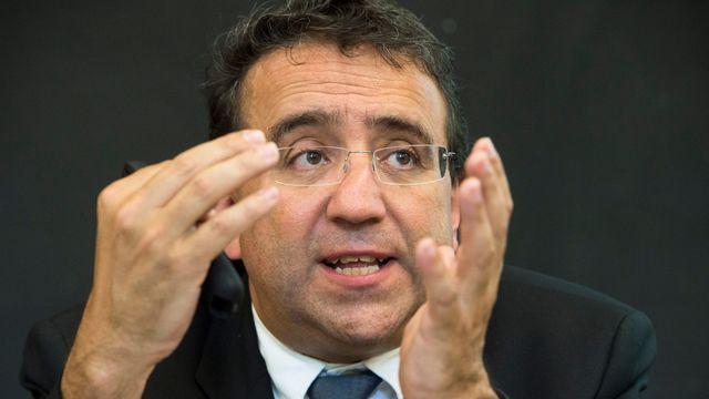 Pascal Broulis, conseiller d'Etat vaudois en charge des finances. [Dominic Steinmann - Keystone]
