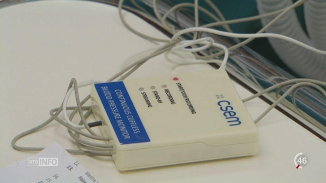Opération médicale: un capteur high-tech à la place de câbles [RTS]