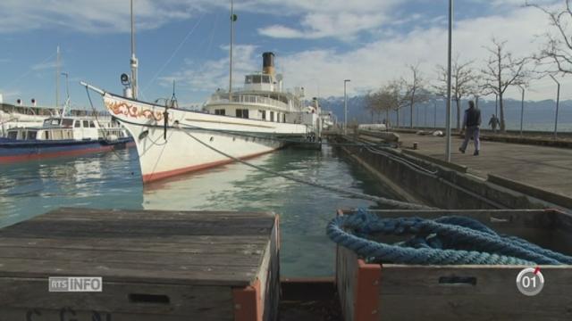 Minimag-GE: la vapeur est toujours utilisée sur les bateaux «belle époque» de la CGN [RTS]