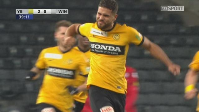 Coupe Suisse, 1-4 finale: YB - Winterthour 2-0, 39e Bertone [RTS]