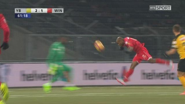 Coupe Suisse, 1-4 finale: YB - Winterthour 2-1, 61e Silvio [RTS]