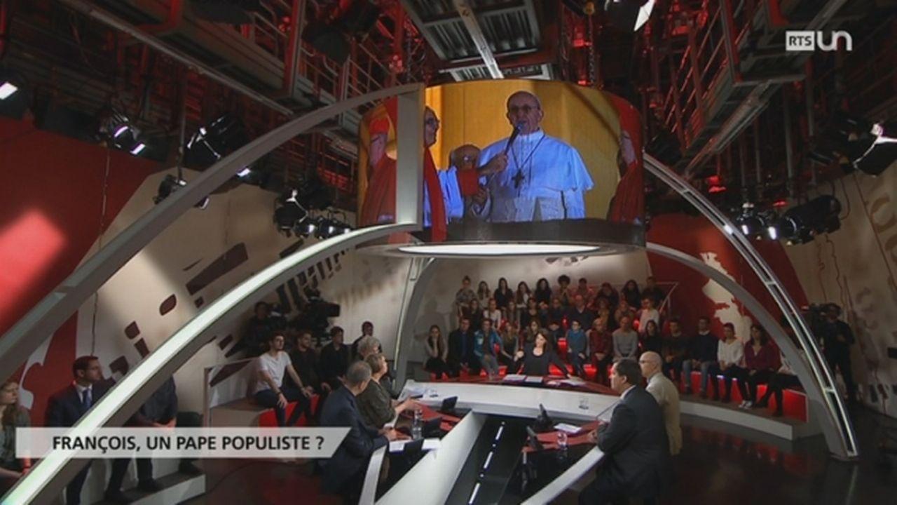 François: un pape populiste ? [RTS]