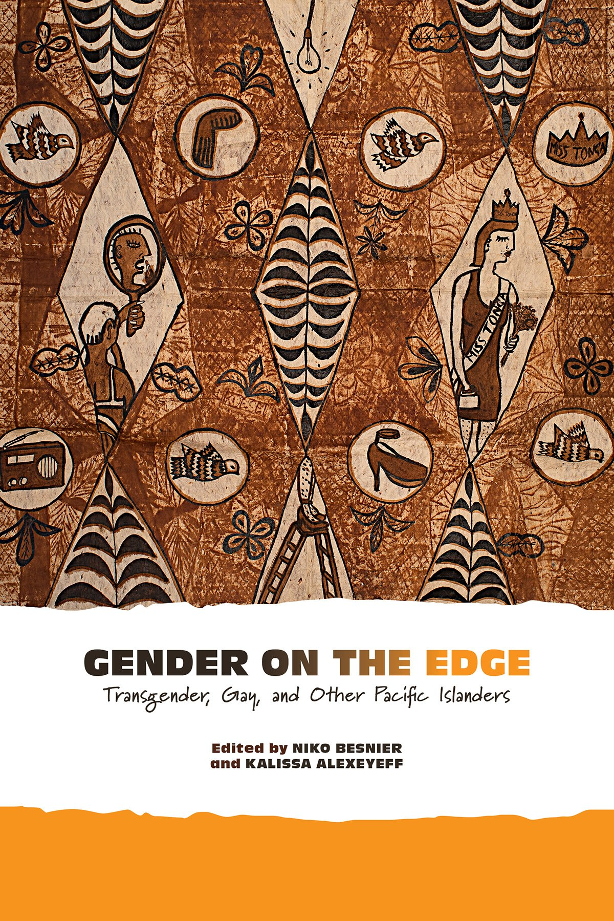 "La couverture du livre ""Gender on the Edge: Transgender, Gay, and Other Pacific Islanders"", co-édité par Niko Besnier et Kalissa Alexeyeff."