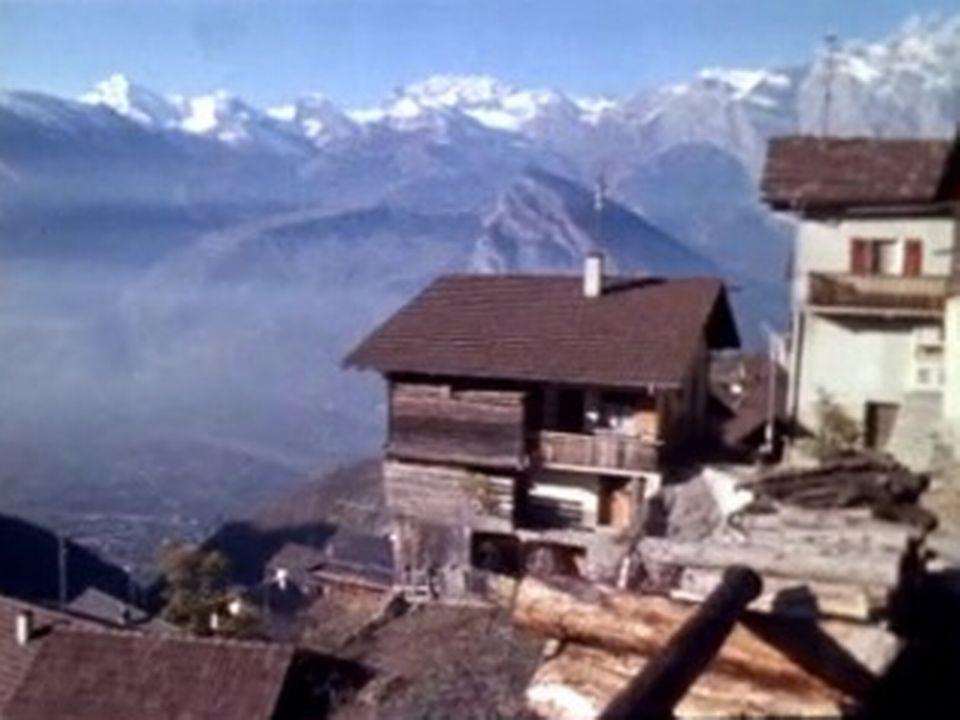 Village d'Isérables en 1969 [RTS]