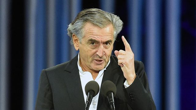 L'intellectuel français Bernard Henri-Lévy. [Genya Savilov - AFP]