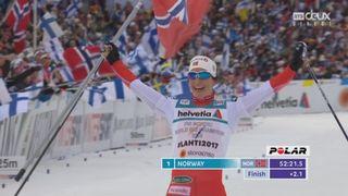 Mondiaux de Lathi (FIN), 4x5km relais dames: la Norvège remporte l'or devant la Suède et la Finlande. La Suisse se classe 7e [RTS]