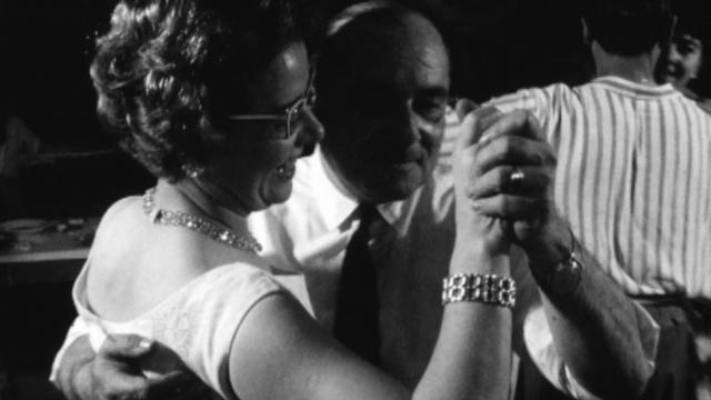 Couple dansant le tango, 1962. [RTS]
