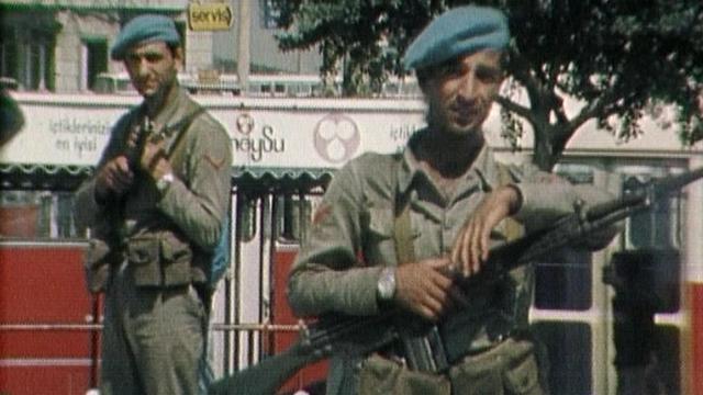 L'armée turque est au pouvoir en 1980. [RTS]