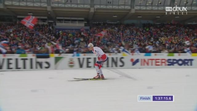 Mondiaux de Lathi (FIN), relais 4x10km messieurs: la Norvège remporte son 8e titre consécutif dans la discipline [RTS]