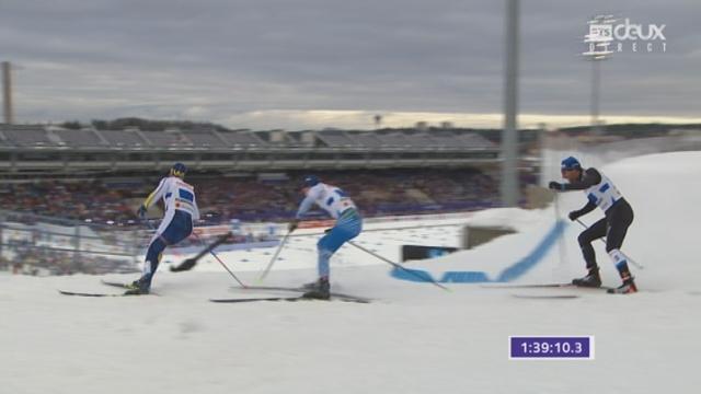 Mondiaux de Lathi (FIN), relais 4x10km messieurs: la Suisse termine au pied du podium à 2 dixièmes de la médaille de bronze [RTS]