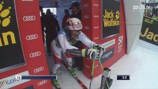 Kranjska Gora (SLO), Géant 1re manche: 3e place provisoire pour Justin Murisier (SUI) [RTS]