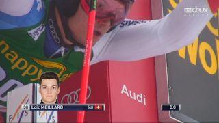 Kranjska Gora (SLO), Géant 1re manche: Loïc Meillard (SUI) termine à +2.66 [RTS]