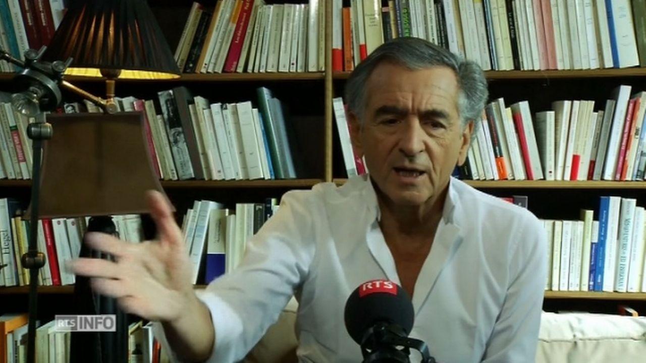 Bernard-Henri Lévy pense que la résistance au FN perdure en France [RTS]