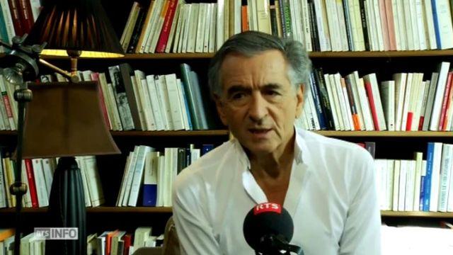 La version longue de l'interview de Bernard-Henri Lévy. [RTS]