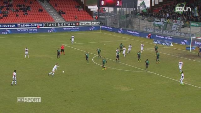 Football - Super League (23e j.): Sion - Saint-Gall (1-2) [RTS]
