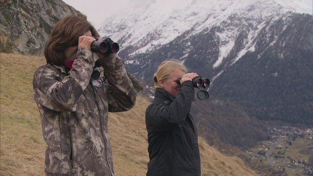Femmes gardes-chasse [RTS]