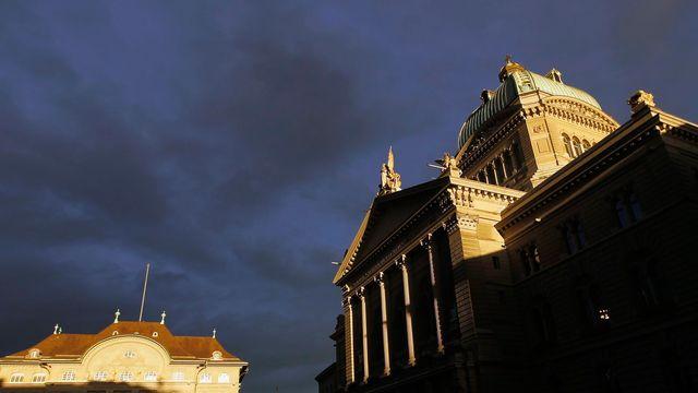 Le Palais fédéral, à Berne. [Peter Klaunzer - Keystone]
