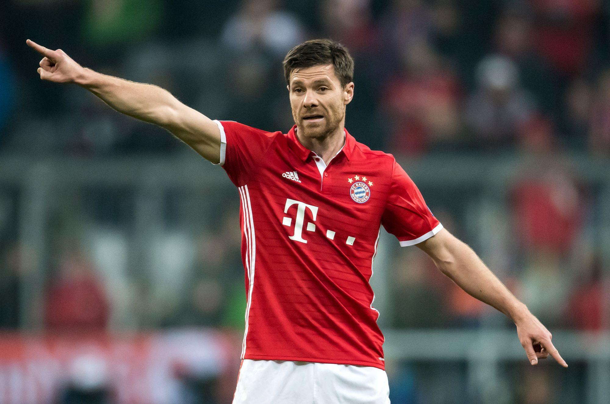 Xabi Alonso a remporté deux titres de champion d'Allemagne avec le Bayern