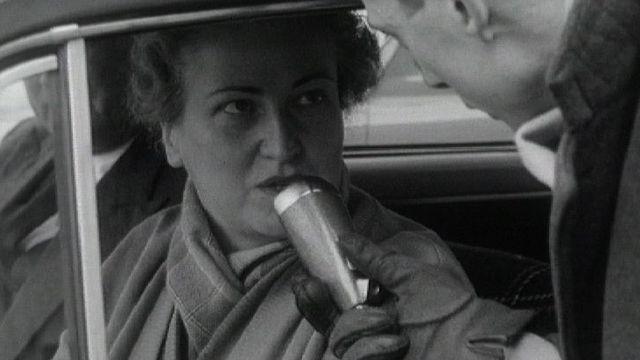 Interview d'une automobiliste à Genève en 1960. [RTS]