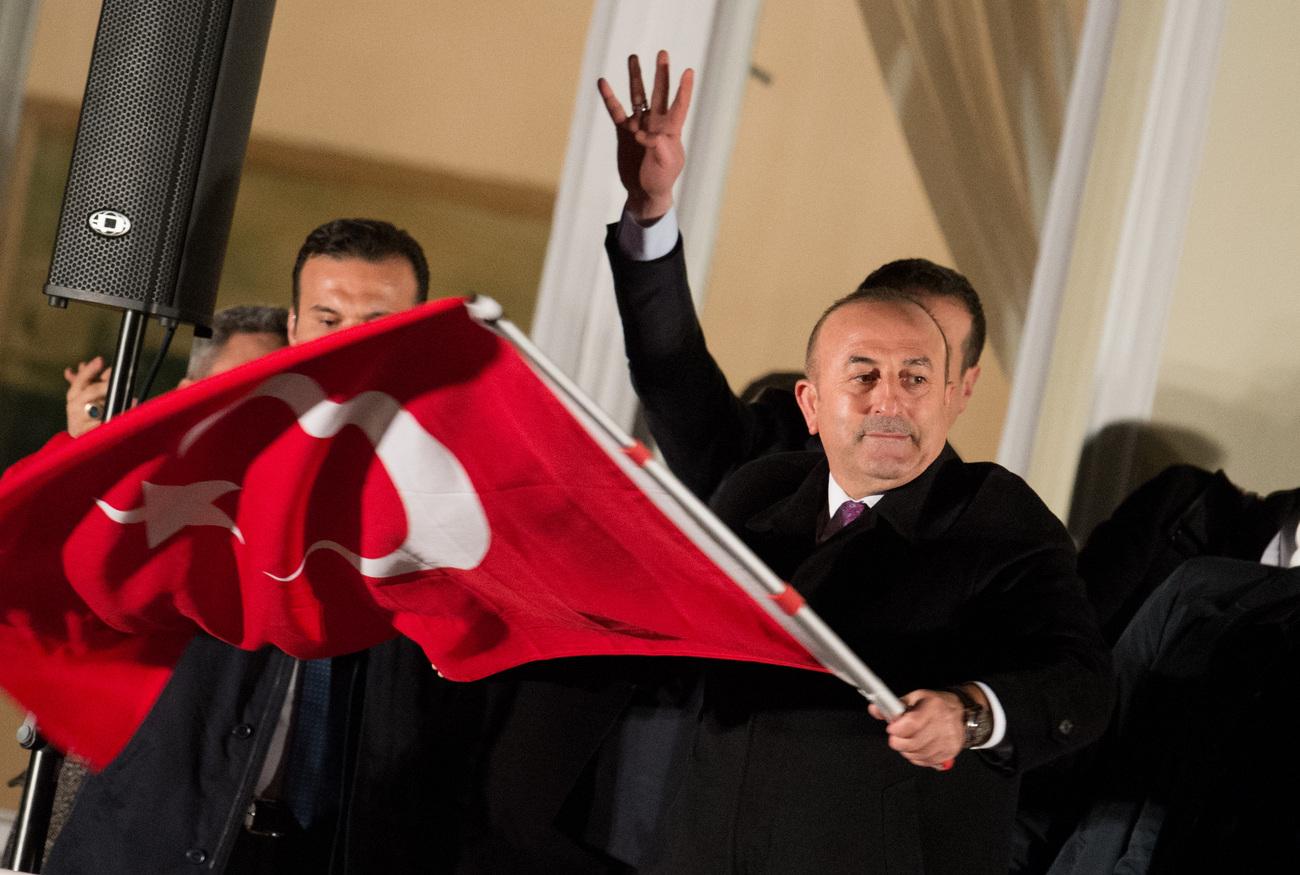 Berne s'oppose à l'interdiction de la visite du ministre turc