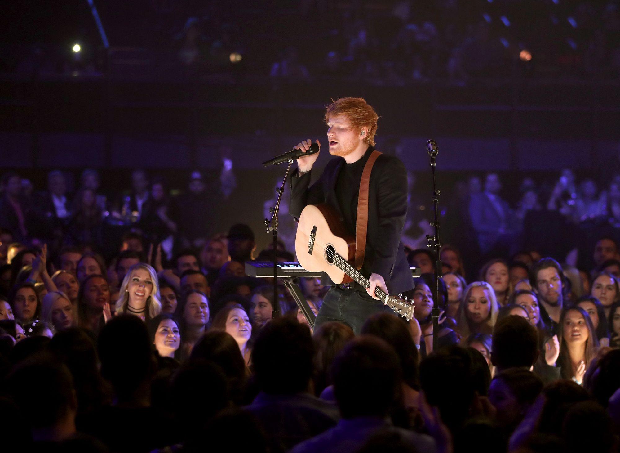Ed Sheeran à Québec et Montréal en juillet