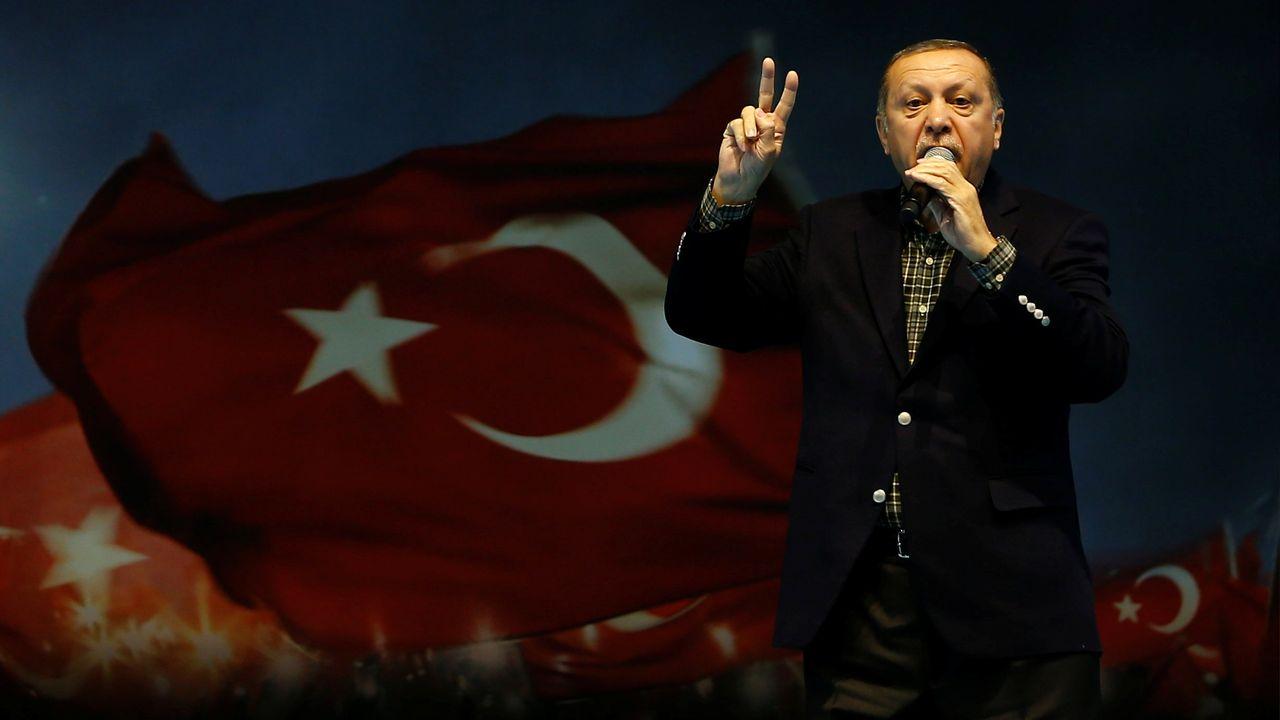 Le président turc Erdogan à Istanbul le 5 mars 2017. [Murad Sezer - Reuters]