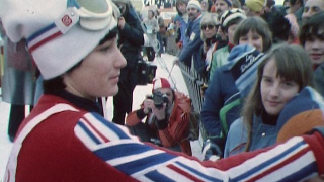 Lise-Marie Morerod, une championne très populaire. [RTS]