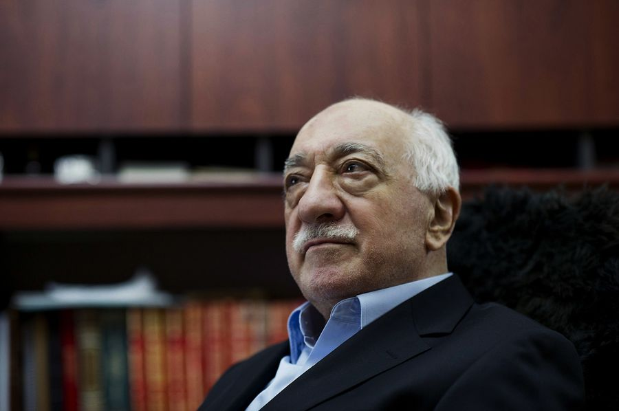 Fethullah Gülen à son domicile aux Etats-Unis.