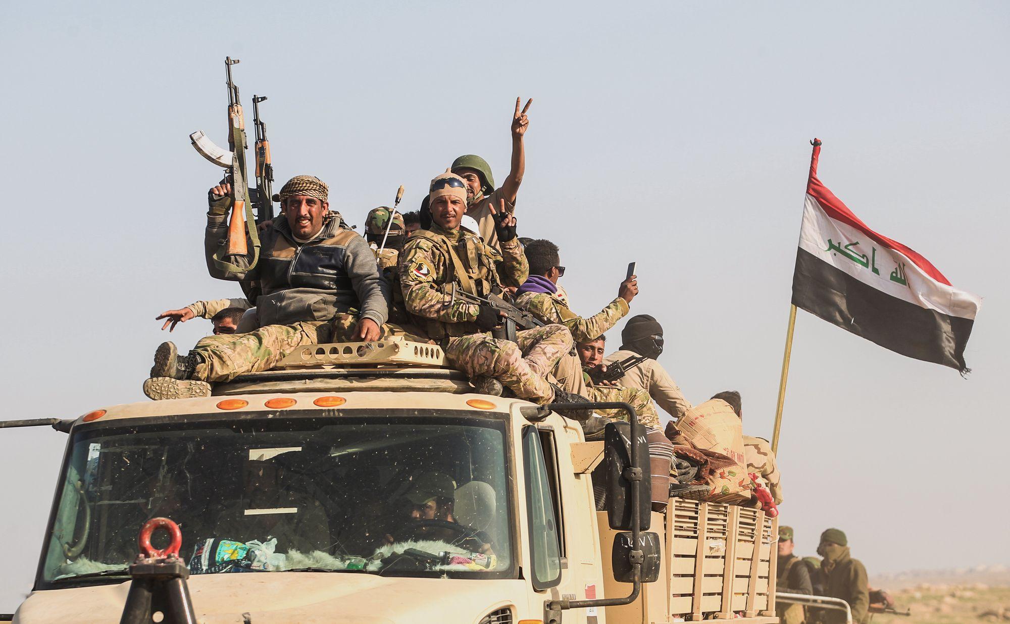 Un tiers de Mossoul-Ouest repris à l'EI — Irak