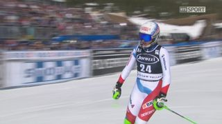 Squaw Valley (USA), slalom 2e manche: Denise Feierabend (SUI) [RTS]