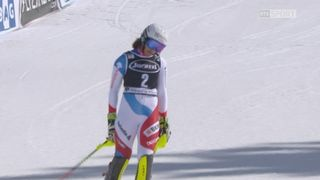 Squaw Valley (USA), slalom 2e manche: Wendy Holdener (SUI) [RTS]