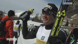 Marathon de l'Engadine: victoire de Dario Cologna (SUI) [RTS]