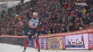 30 km dames, Oslo (NOR): victoire de Bjoergen (NOR) devant Parmakoski (FIN) 2e et Niskanen (FIN) 3e. Von Siebenthal 12e [RTS]