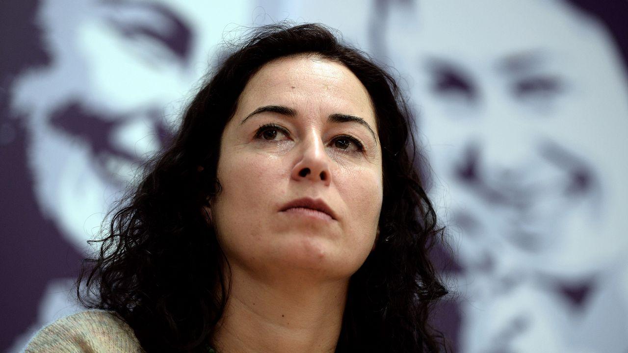 Pinar Selek, socilogue et militante turque en 2014. [Frédérick Florin - AFP]