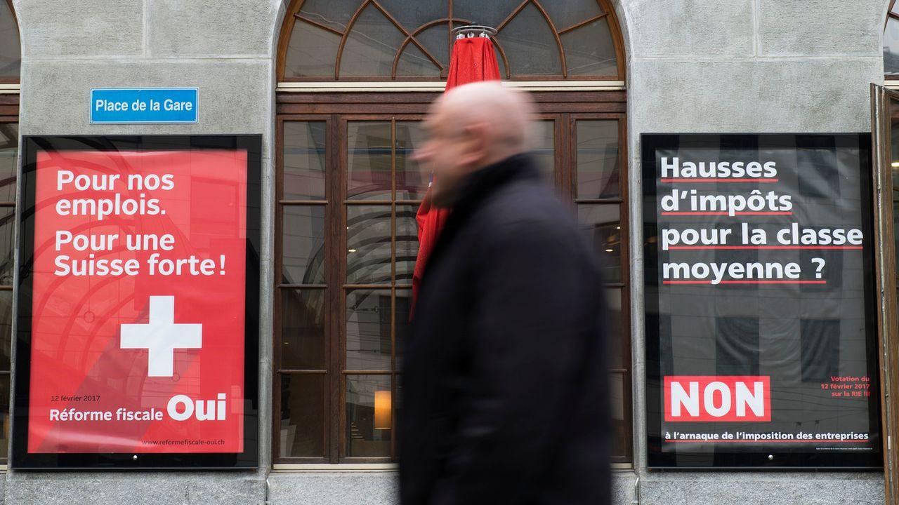 La troisième réforme de l'imposition des entreprises a été refusée dans les urnes par 59,1% des Suisses. [Thomas Delley - Keystone]