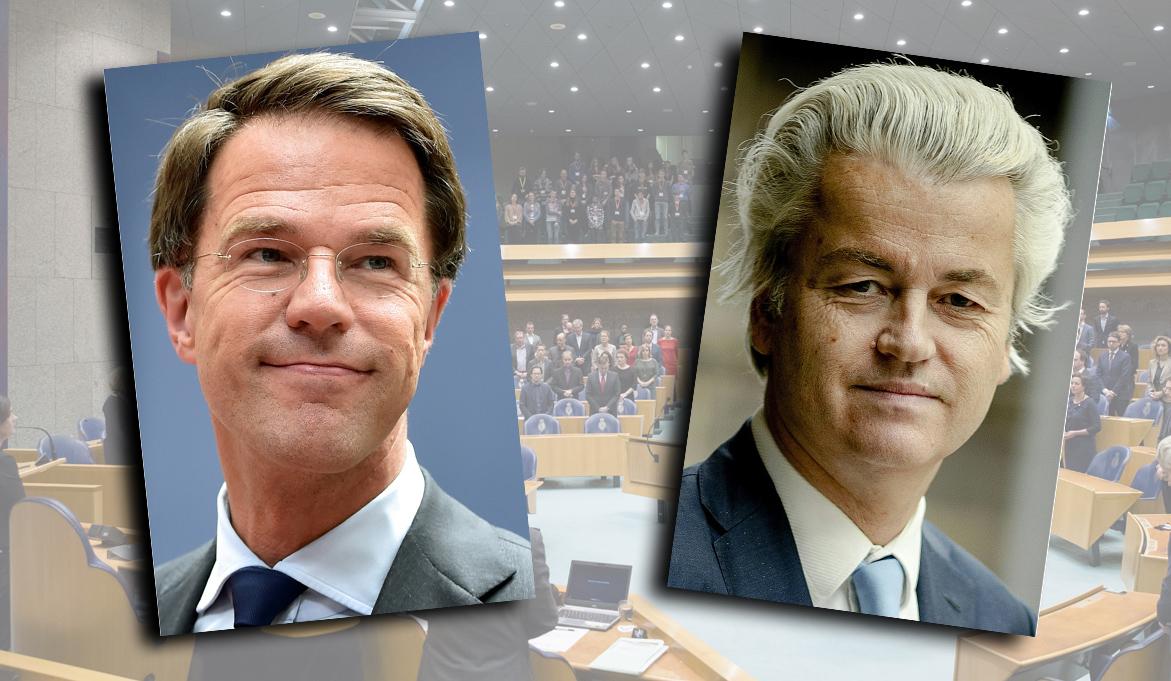 Pays-Bas: le parti libéral en tête, Geert Wilders revendique