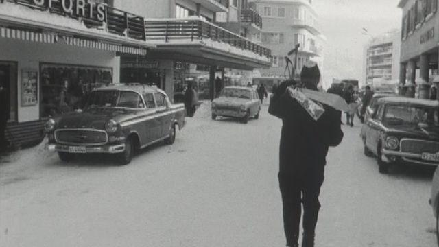 A Crans-Montana en 1968. [RTS]