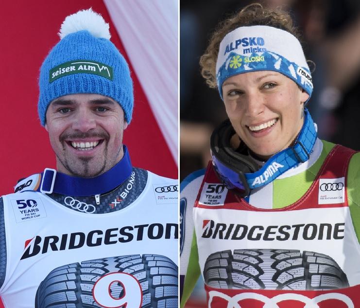 Peter Fill et Ilka Stuhec ont dominé le 2e entraînement en vue de la descente de mercredi