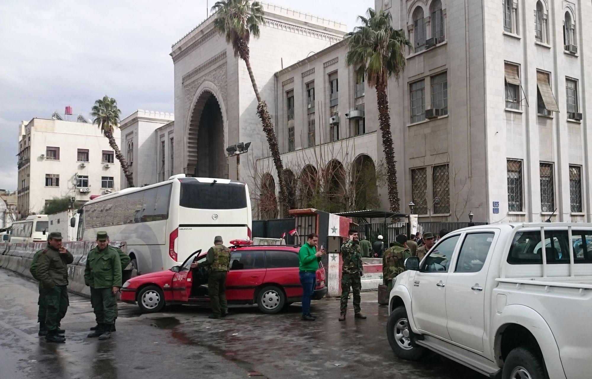 Un double attentat à Damas fait au moins 25 morts — Syrie