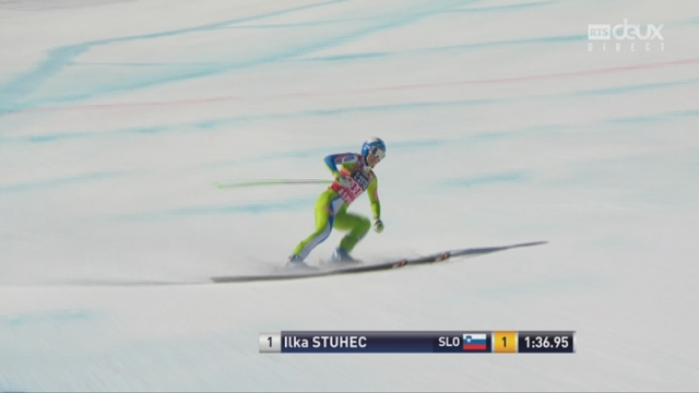 Aspen (USA), descente: Ilka Stuhec remporte la descente et le globe de la spécialité [RTS]