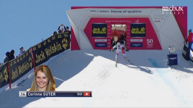 Aspen (USA), descente: Corinne Suter (SUI) [RTS]