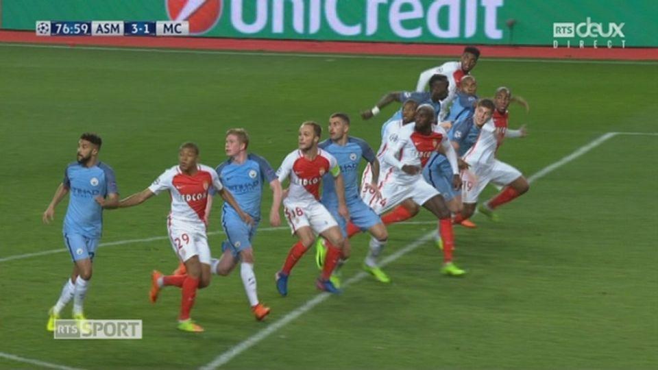 Ligue des champions, 1-8 retour: Monaco – Manchester City 3-1, 77e Bakayoko [RTS]