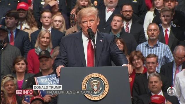 Le second décret anti-immigration de Trump suspendu par la justice [RTS]