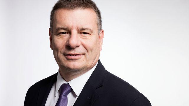 Le conseiller national MCG genevois Roger Golay. [Gaëtan Bally - Keystone]