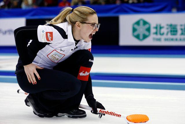 Alina Pätz, ici en finale du Championnat du monde 2015 à Sapporo, représentera la Suisse cette année à Pékin. [Keystone]