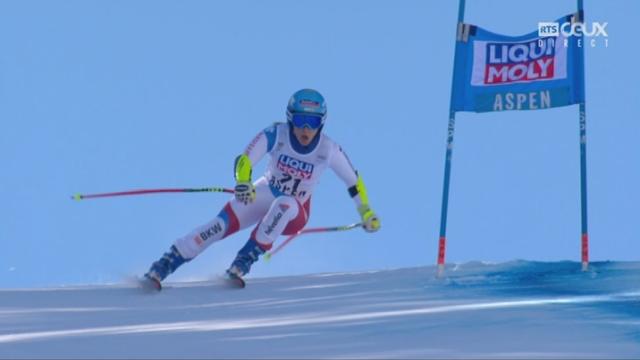 Aspen (USA), super G: Joana Haehlen (SUI) 15e [RTS]