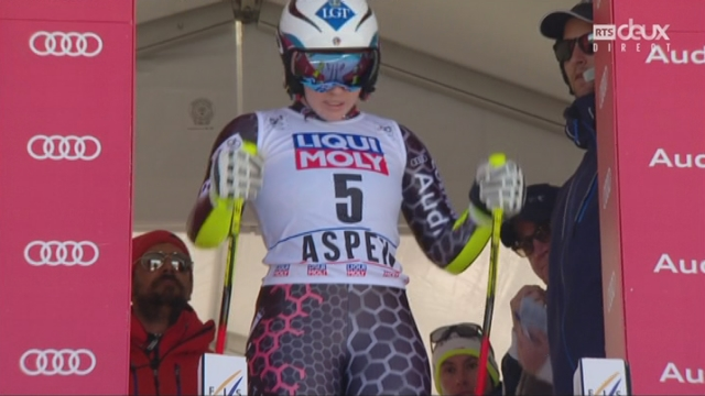 Aspen (USA), super G: Tina Wirather (LIE) remporte le Globe de cristal [RTS]