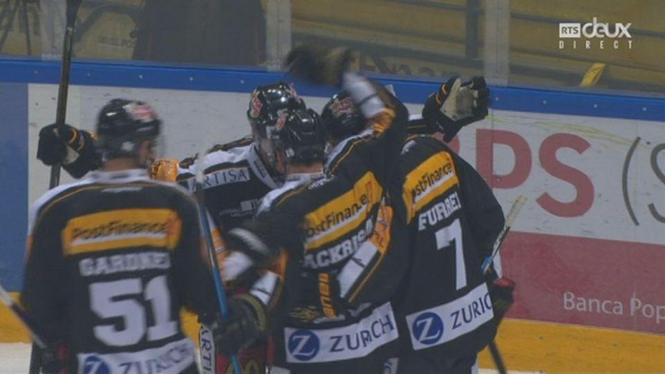Playoffs LNA, 1-4 acte VI : Lugano – Zurich 1-0,  13e Bürgler [RTS]