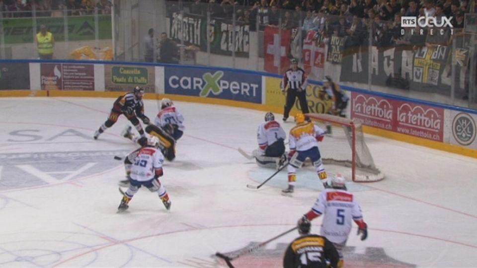 Playoffs LNA, 1-4 acte VI : Lugano – Zurich 2-0, 13e Vauclair [RTS]
