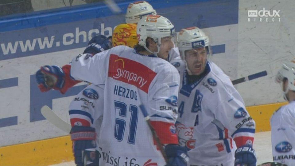 Playoffs LNA, 1-4 acte VI : Lugano – Zurich 2-1, 23e P. Thoresen [RTS]